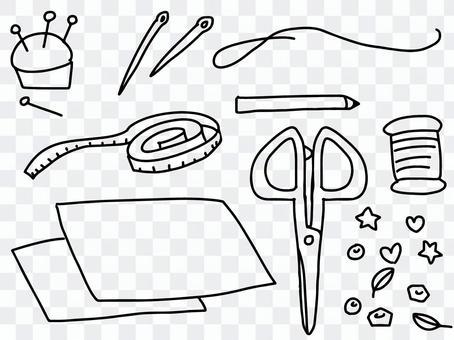縫紉(單色)