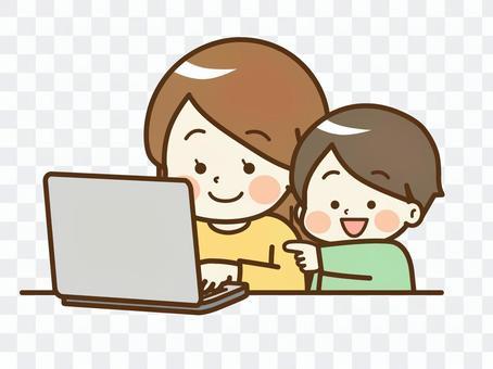 PC_婦女和男孩