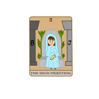 塔羅牌 女祭司