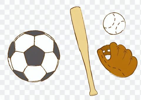 足球棒球裝備