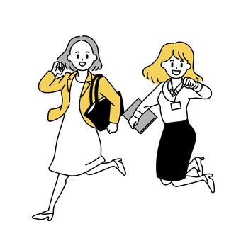 女上班族(二)跳躍
