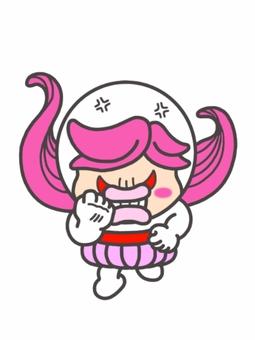 憤怒的女孩! ️