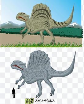 Dinosaur Spinosaurus Theropod Carnivorous