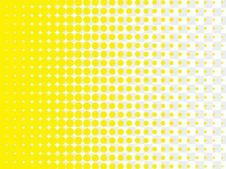 彩色半色調背景材料(黃色)