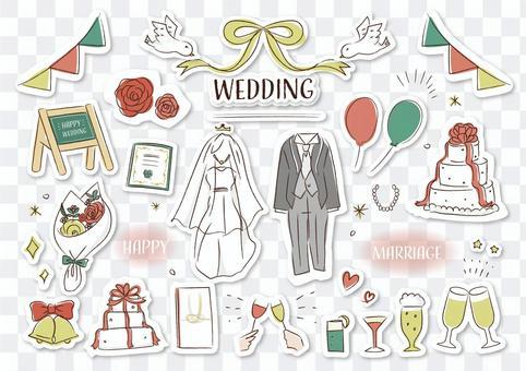 婚禮婚禮印章樣式