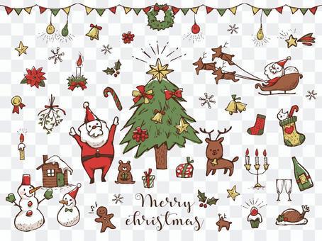 [手寫]聖誕節拼盤3
