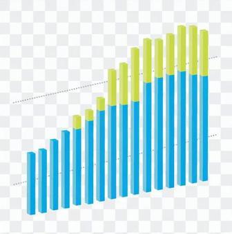 三維垂直條形圖7