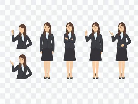 Business woman - set 4