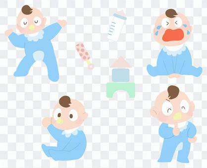 寶貝插畫合集