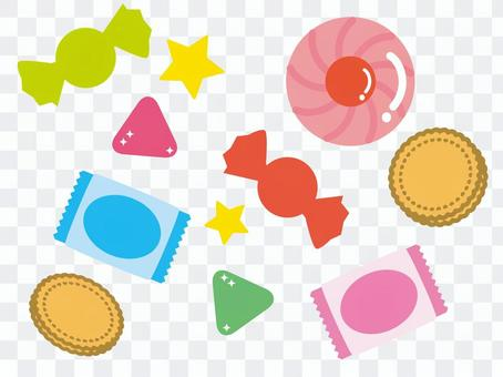 Various candies