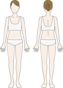 Whole body set (colored)