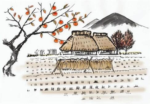 茅草屋頂的房子02