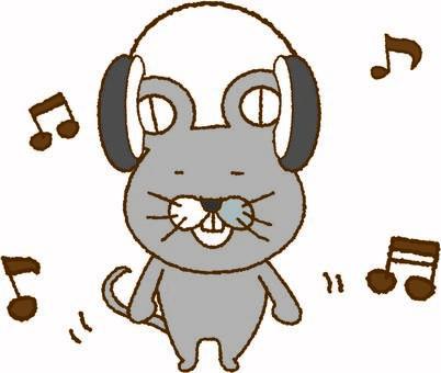 鼠標和音樂