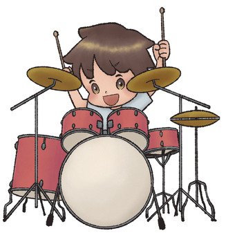Drummer (male)