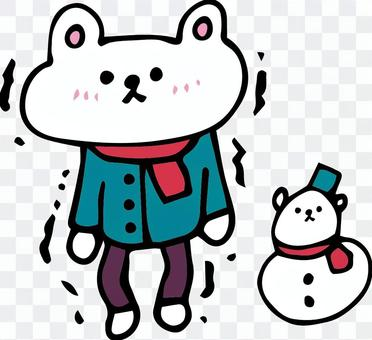 雪法和Gakuburu Shirokuma