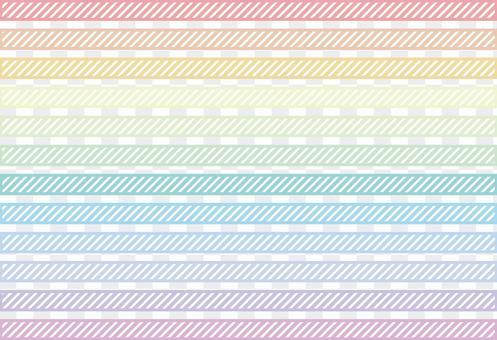 虹彩條紋線角度