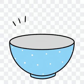 空っぽのお茶碗・可愛い手描き