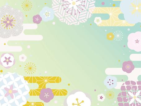 일본식 디자인의 프레임 3