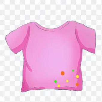 Tシャツ ドット