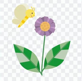 花朵和蝴蝶