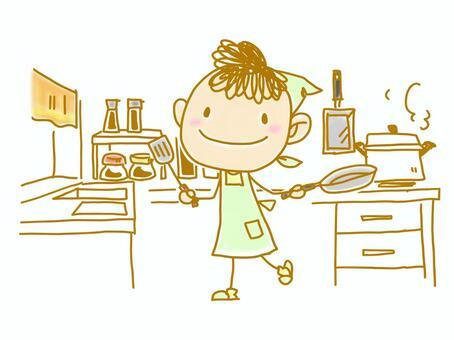 Illustration (Kitchen