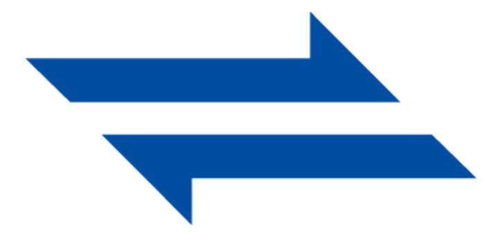 鋒利的箭頭_藍色
