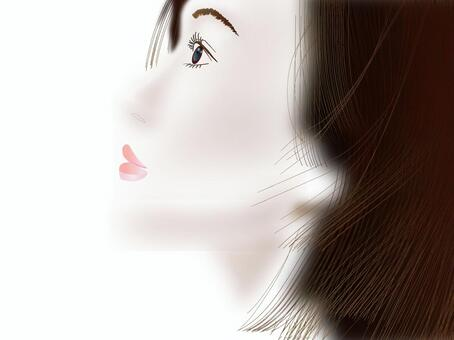 Women's profile profile series 08