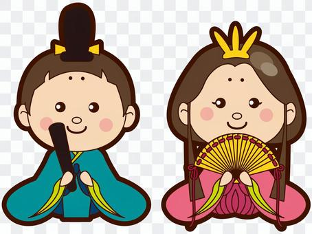 Dolls illustration