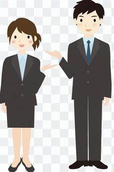 Business Information Gender 3 Full Body