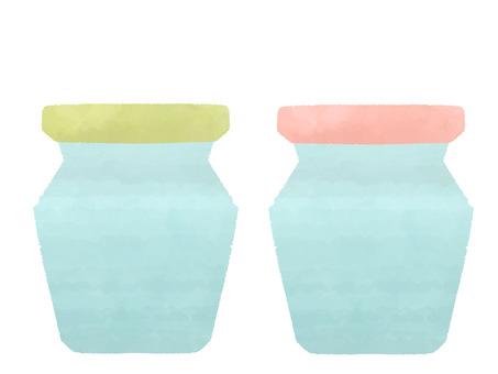 儲存罐/玻璃罐/果醬罐