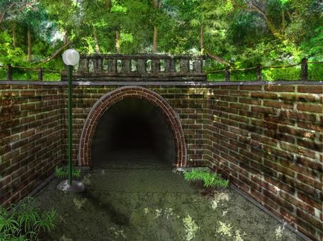 隧道在山上