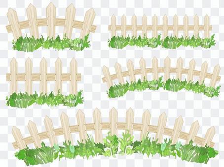 Shiraki's fence