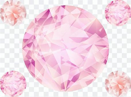 粉紅鑽石(首飾)