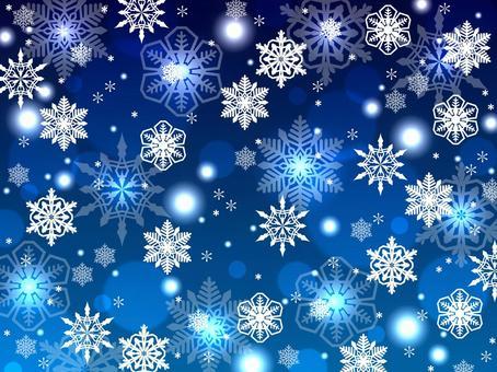 雪もようの背景素材
