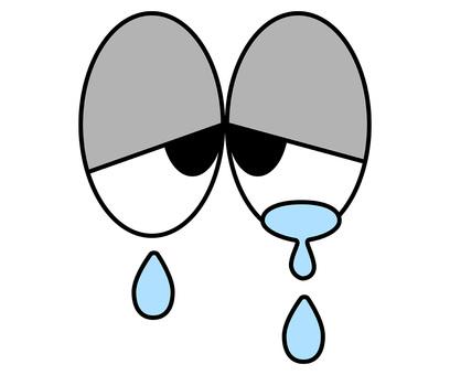 Sad eye icon