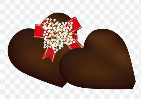 Heart chocolate 12