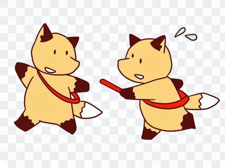 狐狸狐狸 - 接力