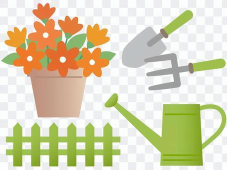 60717. Gardening equipment 4