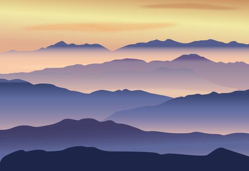 太陽的山脈