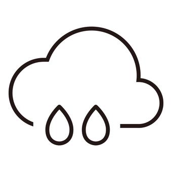 Weather icon (rain ④)
