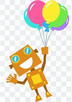 機器人氣球