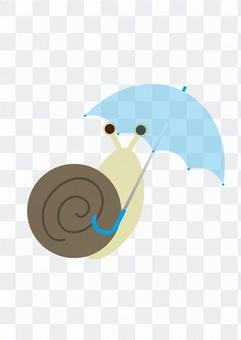 雨傘和蝸牛