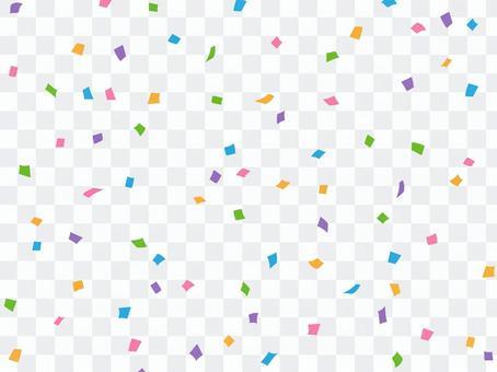 Confetti on 01