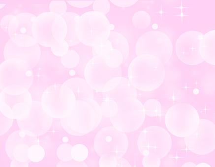 粉紅球散景閃光背景