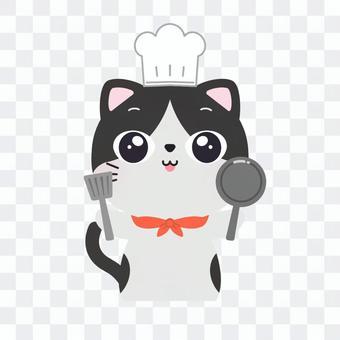 シェフの猫さん