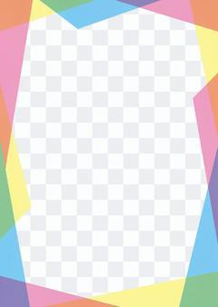 To colorful random frame DM · leaflet