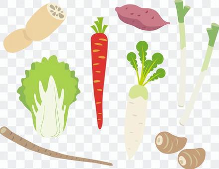 各種蔬菜_03_日本料理美味