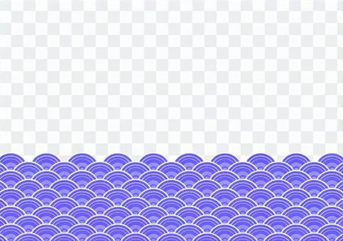 日式波浪框-1