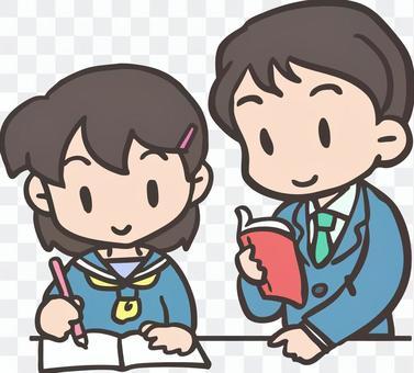 在學習期間