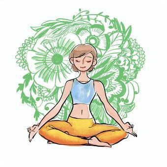 瑜伽冥想1